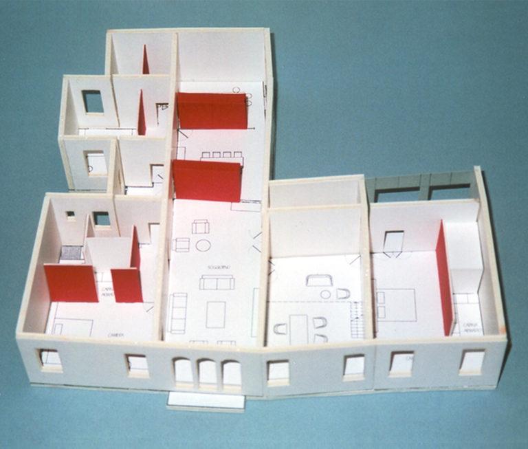 Modell für Sanierung Palastes in Venedig